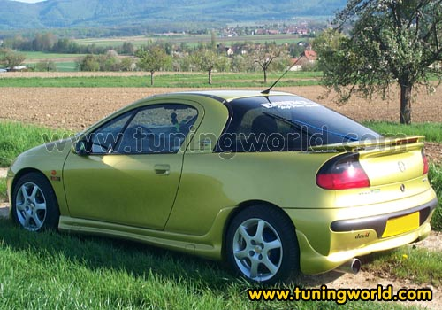 opel tigra tuning tuning from. Black Bedroom Furniture Sets. Home Design Ideas