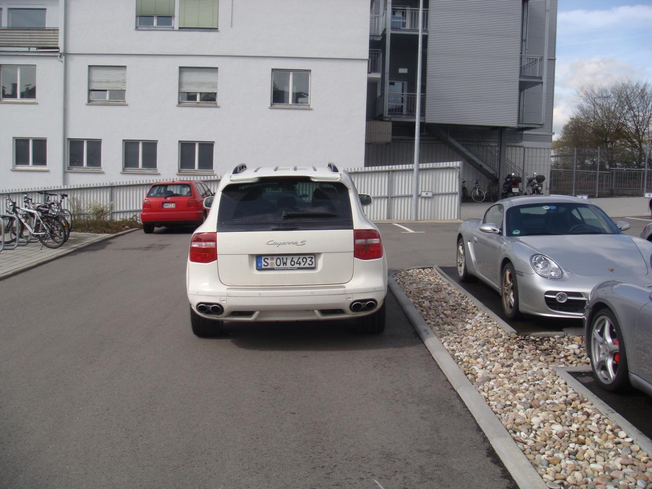 Visita Rapida a Porsche / Fast Visit to Porsche-cayennes.JPG